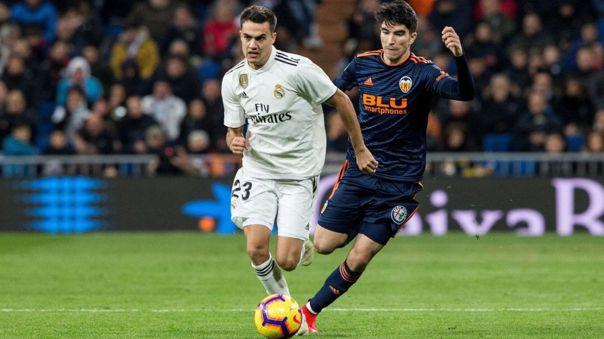 Sergio Reguilón fue cedido por el Real Madrid al Sevilla