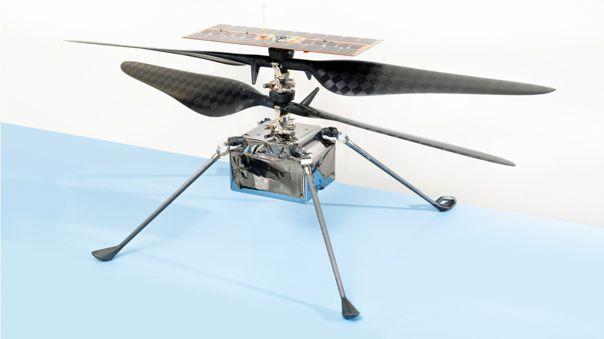 Modelo de vuelo del Helicóptero de Marte Ingenuity