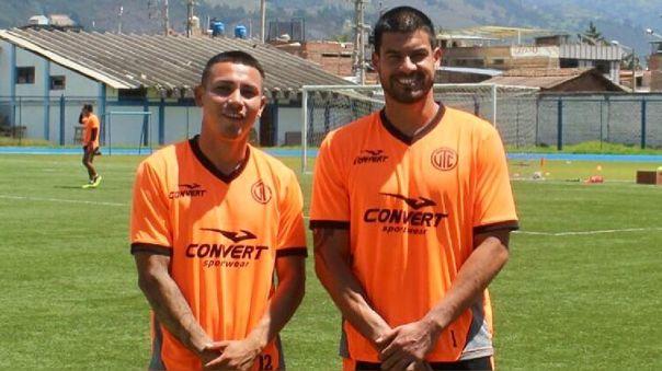 Erick Delgado y Jean Deza jugaron juntos en UTC