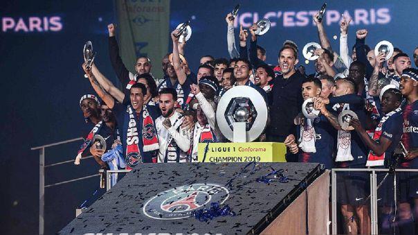 PSG fue el campeón de la Ligue 1 2018-19