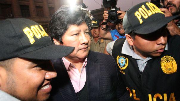 Edwin Oviedo está en prisión desde diciembre del 2018