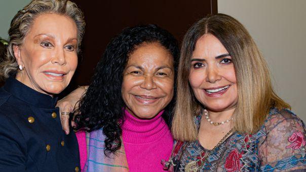 Cecilia Bracamonte, Eva Ayllón y Tania Libertad unen sus talentos en cuarentena