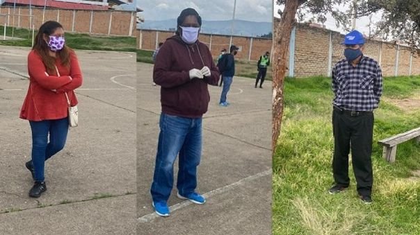 Detenidos Huancayo