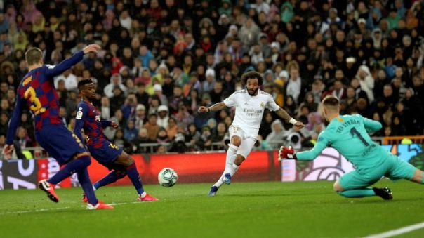 Barcelona y Real Madrid luchan por el título de La Liga 2019-20