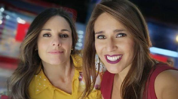 Verónica Linares y Rebeca Escribens
