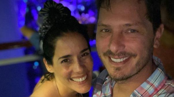Cristian Rivero y Gianella Neyra