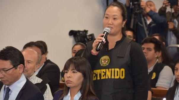 Keiko Fujimori se someterá a pruebas de descarte por coronavirus.