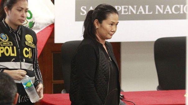 Keiko Fujimori salió en libertad este lunes