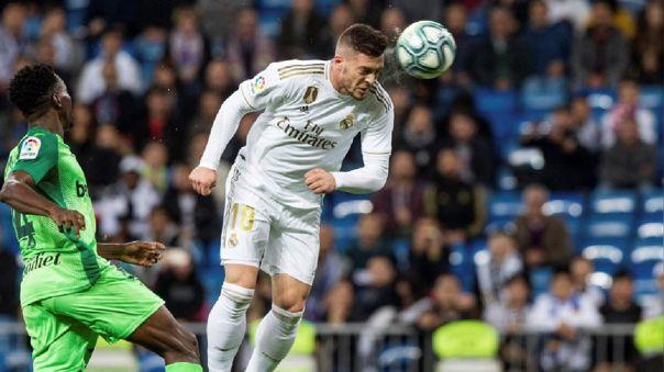 Luka Jovic llegó al Real Madrid en la temporada 2019-20