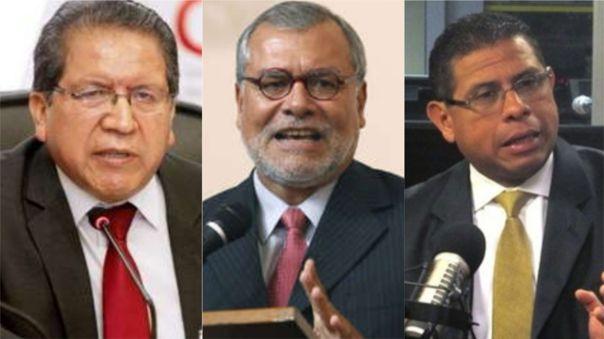 Tres expertos explicación la situación del hacimiento en los penales.