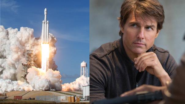 El actor Tom Cruise inica conversaciones con SpaceX para rodar una película en el espacio