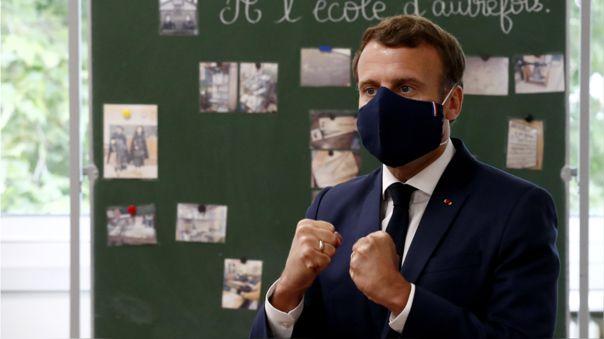 Macron aseguró que