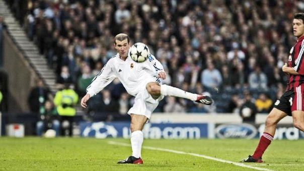 Gol de Zidane con el Real Madrid es elegido el más bello de la Champions League
