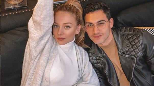 Alejandro Speitzer y Ester Expósito confirman romance.