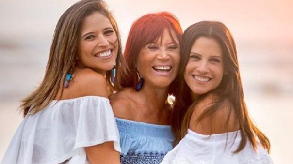 Las hermanas Copello lamentaron no estar al lado de su madre en el día de su cumpleaños.
