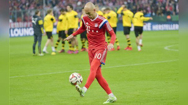 Arjen Robben dejó el fútbol en julio de 2019