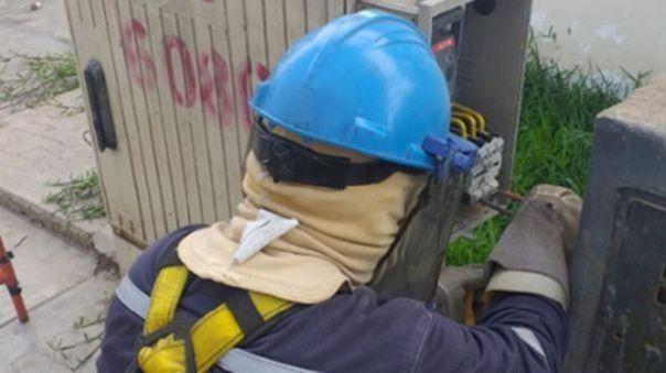 Enel infirmó que realizará trabajos para asegurar la continuidad del servicio.