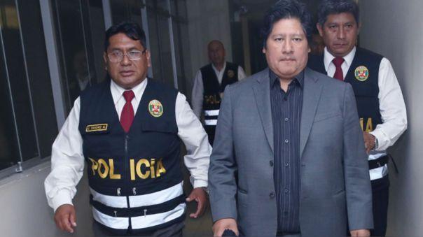 Edwin Oviedo permanece en el penal de Picsi.