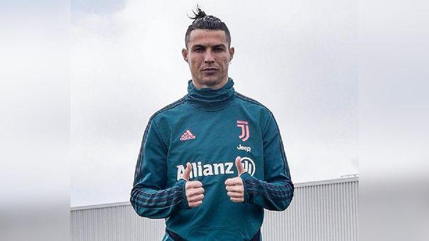 Cristiano Ronaldo es el gran ausente en el entrenamiento de Juventus