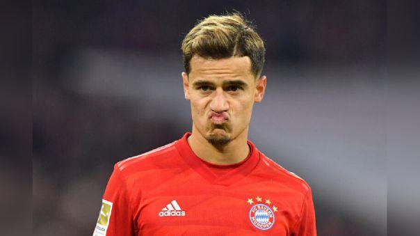 Coutinho jugó esta temporada cedido en el Bayern Munich