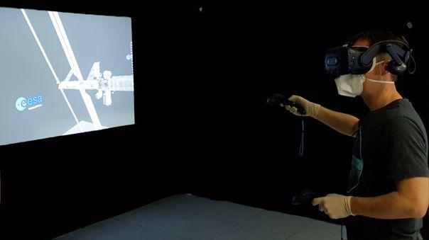 La realidad virtual se ha convertido en un gran aliado para el entrenamiento de los astronautas.