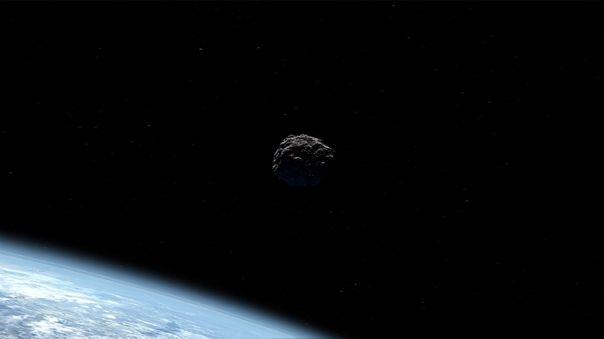 Si bien 2020 JJ no representaba peligro para la Tierra, pudo chocar contra un satélite. Foto referencial.