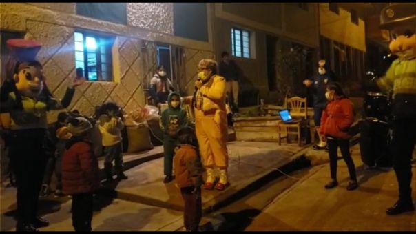 Show infantil de la PNP Cusco