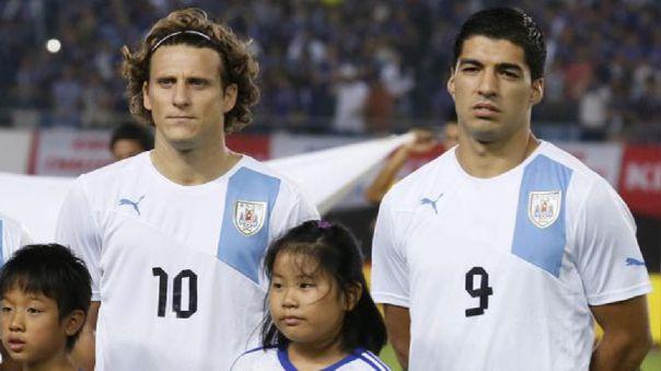 Diego Forlán y Luis Suárez compartieron vestuario en la Selección Uruguaya