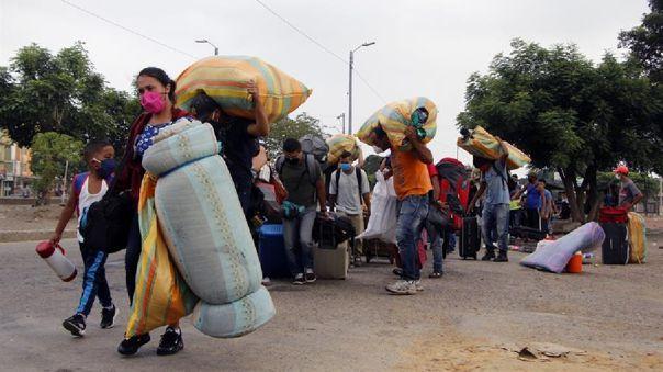 VENEZOLANOS ECUADOR VUELO CORONAVIRUS