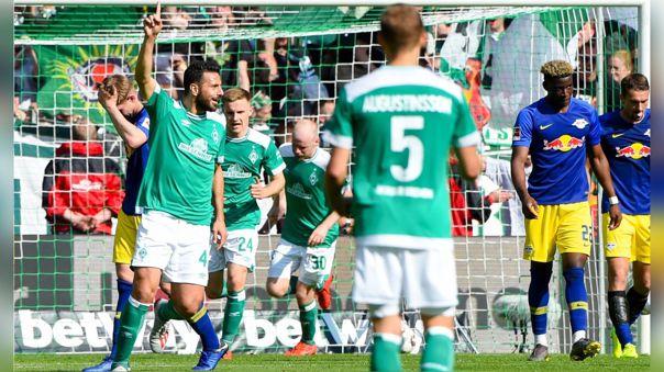 Claudio Pizarro no ha marcado goles en la Bundesliga 2019-20