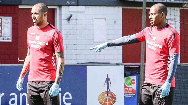 Sergio Peña y Miguel Araujo pertenecen al FC Emmen