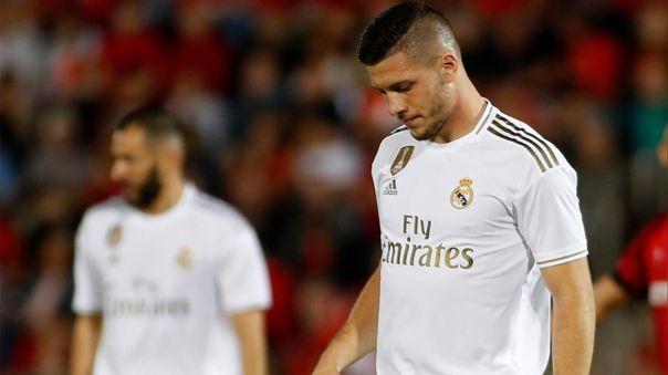 Luka Jovic llegó al Real Madrid proveniente del Eintracht Frankfurt