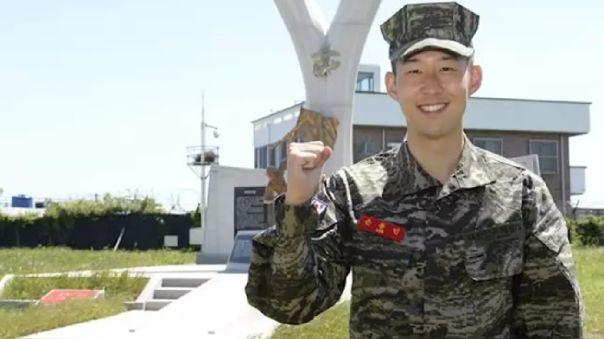 """Heung-Min Son es calificado entre """"los cinco mejores"""" del servicio militar en Corea del Sur"""