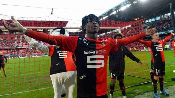 Camavinga ha disputado dos temporadas en Ligue 1 con Rennes