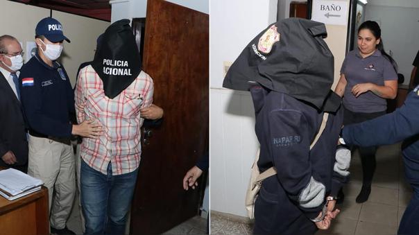 El padrastro (izquierda) y la madre (derecha) están detenidos