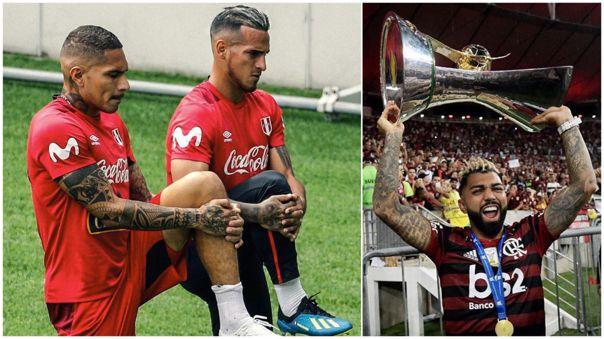 Miguel Trauco jugó con Gabigol en Flamengo