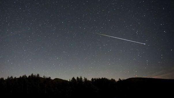 Lluvia de estrellas se podrá observar durante todo este mes.