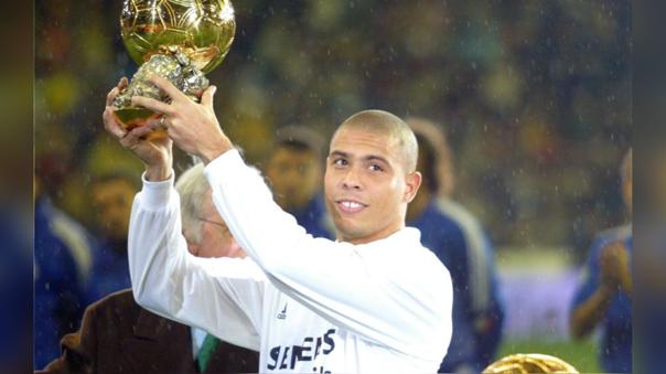 Ronaldo ganó el Balón de Oro en 2002
