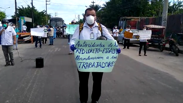 Coronavirus en Perú | Iquitos: Médicos de EsSalud denuncian falta ...