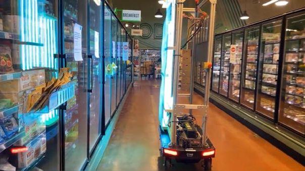 Este es el robot diseñado por Amazon pára