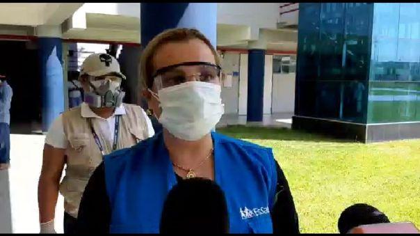 Presidenta de EsSalud anunció que Hospital Tumán será para pacientes COVID-19