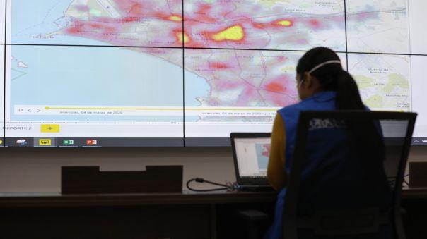 EsSalud monitorea la enfermedad con el Mapa de Calor.