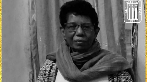 Esther Yáñez trabajó durante décadas en Alianza Lima