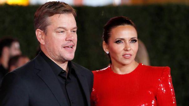 Alexia, hija de Matt Damon y Luciana Barroso, contrajo el coronavirus en la ciudad de Nueva York.