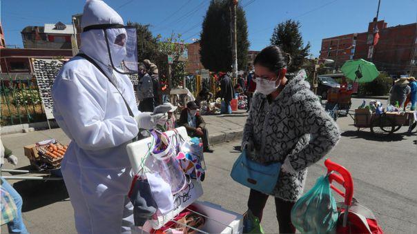 Cuarentena por coronavirus en El Alto, Bolivia