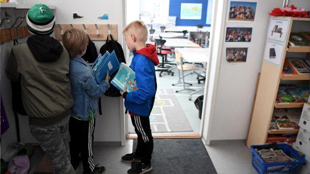 Los estudiantes se reincorporan a la escuela por poco más de dos semanas.