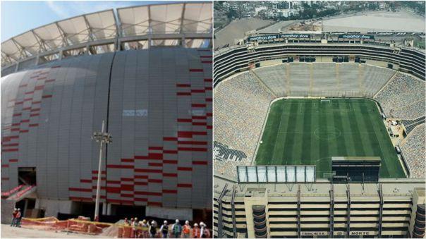 Estadios Nacional y Monumental
