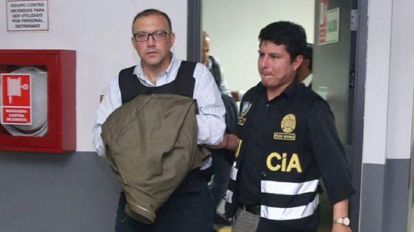 Pier Figari está recluido en el penal Miguel Castro Castro