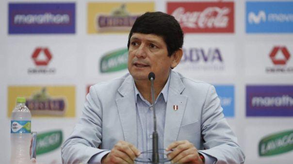 Agustín Lozano se refirió sobre la vuelta de la Liga 1