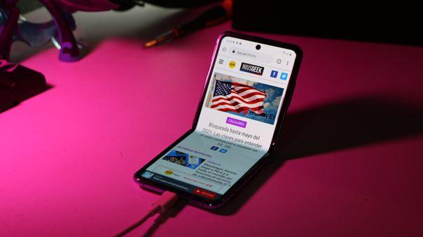 NIUSGEEK ya tiene a prueba al Samsung Galaxy Z Flip